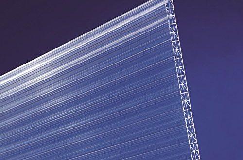 scobalit X ar dual X Polycarbonat Hohlkammerplatten klar L 3000mm B 500x330 - scobalit X-ar dual X Polycarbonat Hohlkammerplatten klar L 3000mm B 980mm 16mm